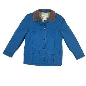L.L. Bean Insulated Navy Blue Coat